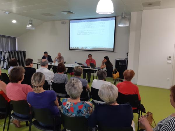 L'association orialys, SAAD Lunel - Assemblée générale 2018